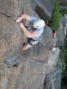 Rock Climbing Photo: 3rd pitch of Spirit of Adventure -Karl K.