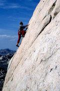 Rock Climbing Photo: Tucker Tech climbing on NRA Block. Photo by Blitzo...