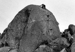 "Rock Climbing Photo: Todd Gordon on the FA of ""Have a Ball"". ..."