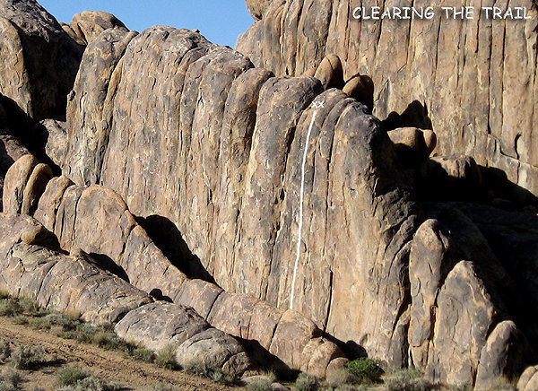 "Rock Climbing Photo: ""Clearing the Trail"". Photo by Blitzo."