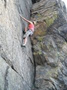 5.8 route on lookout mtn