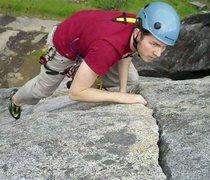Rock Climbing Photo: Messin around at Bucks Bar Dome
