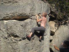 Rock Climbing Photo: FA of the Cyclops!