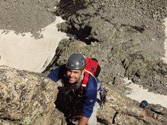 Rock Climbing Photo: pitch 7 of NE ridge