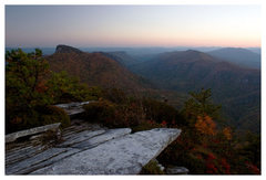 Rock Climbing Photo: Sunset from Hawksbill.