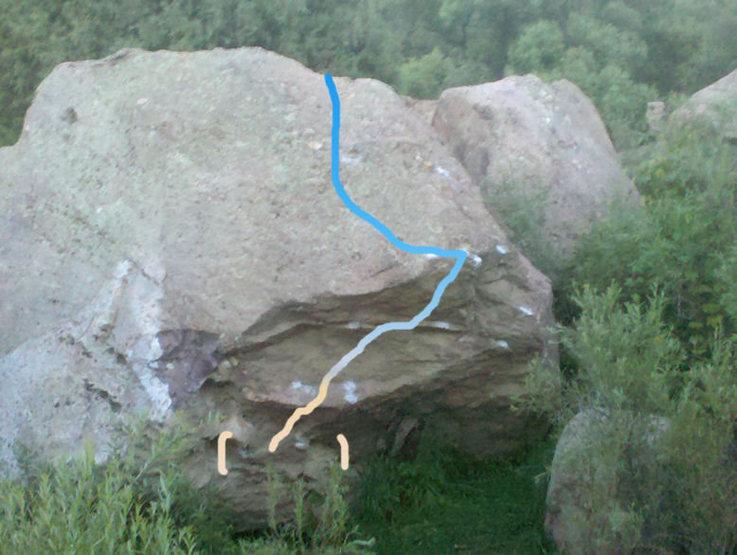 Rock Climbing Photo: Go Avs.