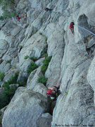 Rock Climbing Photo: Just getting started...