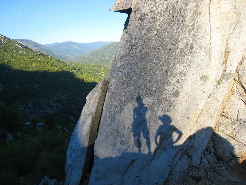 Rock Climbing Photo: Last climbers standing on a beautiful summer day