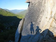 Rock Climbing Photo: Last climbers standing on a beautiful summer day