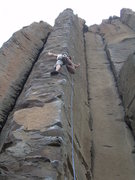 Rock Climbing Photo: With proper technique, rests may be had on this cl...