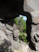 Rock Climbing Photo: The keyhole