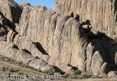 "Rock Climbing Photo: ""Splitting in the Breeze"". Photo by Blit..."