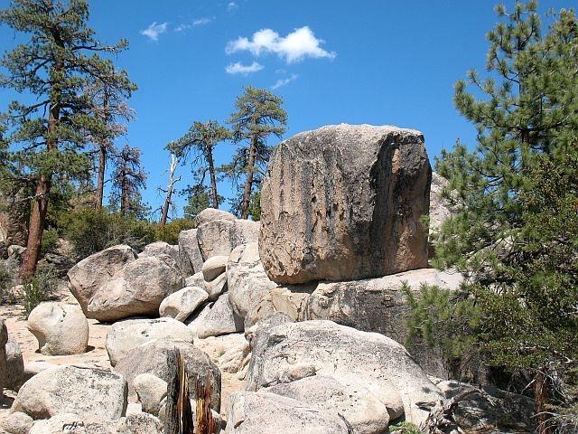 Epitaph Block, Holcomb Valley Pinnacles