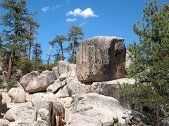 Rock Climbing Photo: Epitaph Block, Holcomb Valley Pinnacles