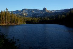Rock Climbing Photo: Crystal Crag from Lake Mamie in the Mammoth Lakes ...
