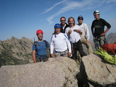 Rock Climbing Photo: Summit shot after our full moon climb, Sept. 5-6, ...