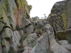 Rock Climbing Photo: We opted to rappel down the South Face Direct rout...