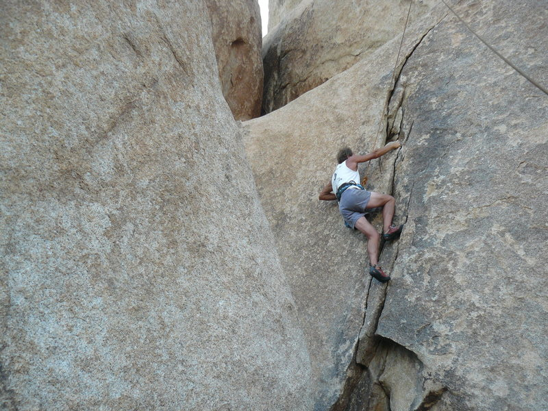 Rock Climbing Photo: Tucker Tech on Hurricane.