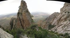 "Rock Climbing Photo: Panoramic taken at ""the Swale"" on the de..."