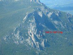 Rock Climbing Photo: Half & Half Crag sit's just below the Shark Fin.
