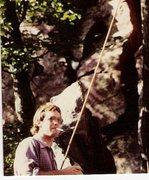 Rock Climbing Photo: Smoke break.