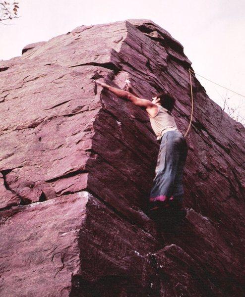 Rock Climbing Photo: Death Leap 2000, Tommy D.