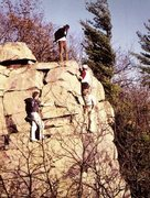 Rock Climbing Photo: More casual drinking around and about Leaning Towe...