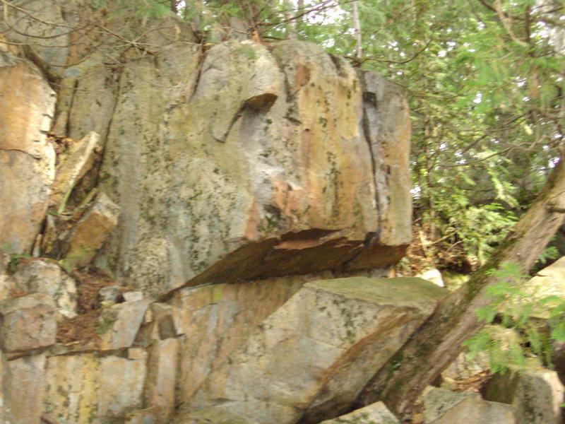 dam boulders