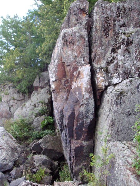Rock Climbing Photo: dam boulders