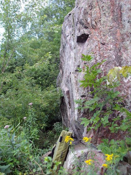 topout boulders