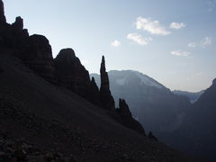 one of the coolest spires I've climbed- the grand sentinel near banff