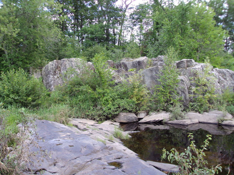Rock Climbing Photo: bridge boulders