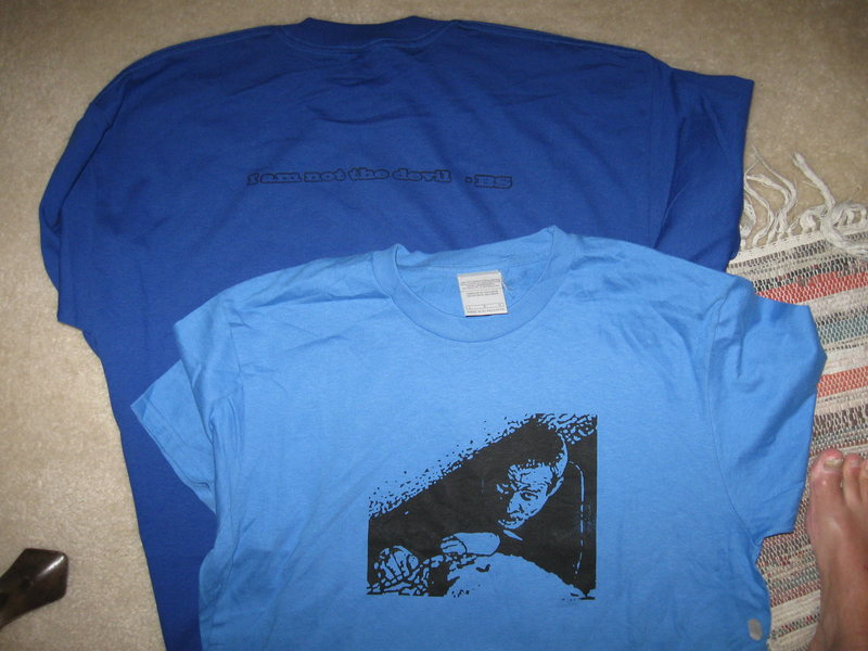 Rock Climbing Photo: some custom shirts for one of Bob's major birthday...