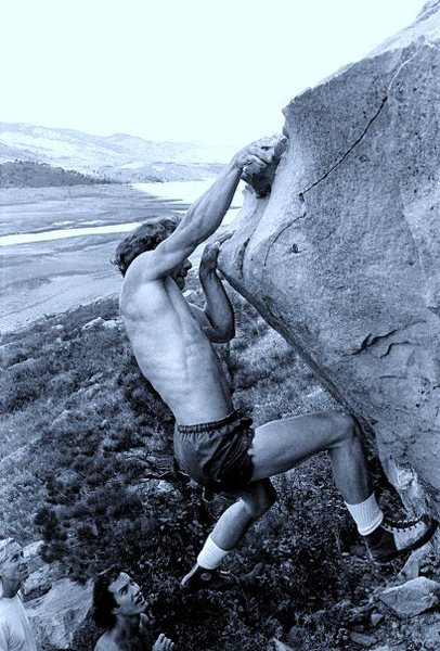 Rock Climbing Photo: Pinch2.