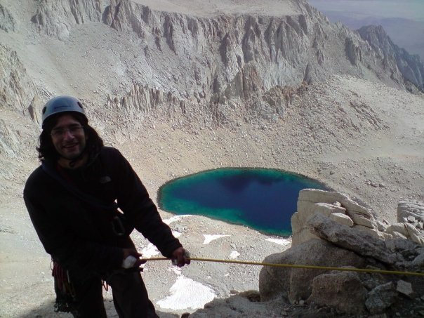 Rock Climbing Photo: part way up the east buttress of Mt. Whitney, Iceb...