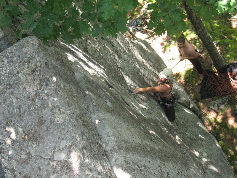 Rock Climbing Photo: Nick on Zag