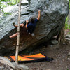 Me at the crux.