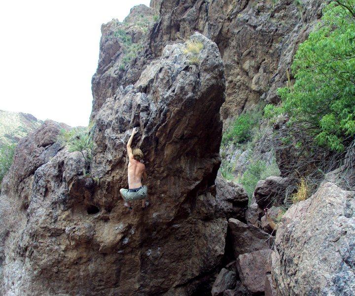 Rock Climbing Photo: Jason Waldman - Ship Wreck Boulder