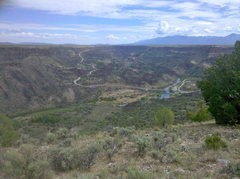 Rock Climbing Photo: View from south on Rift Valley MTB trail.  Vista V...