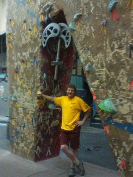 The Mastadon at the Phoenix Rock Gym