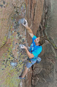Rock Climbing Photo: Matt McKee gettin' after it now that he has his dr...