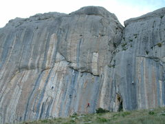Rock Climbing Photo: Secteur Demi Lune (left side)