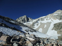 Rock Climbing Photo: BCS from the Gem Lake approach trending left up th...
