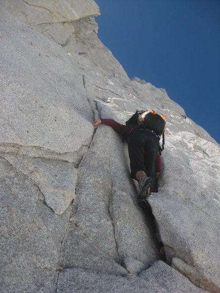 Rock Climbing Photo: P1 per Mt Project
