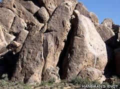 "Rock Climbing Photo: ""Hangman's Knot"". Photo by Blitzo."