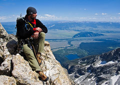 Rock Climbing Photo: Direct Exum Ridge, Grand Teton