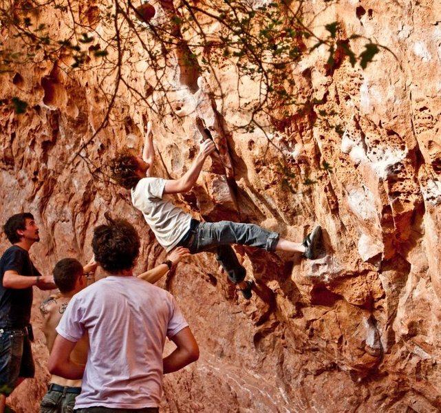 Rock Climbing Photo: Same route.