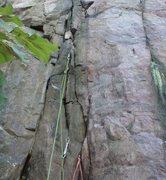 Rock Climbing Photo: Where here fell