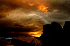 Rock Climbing Photo: Sunset Hwy. 10 area. Photo by Blitzo.