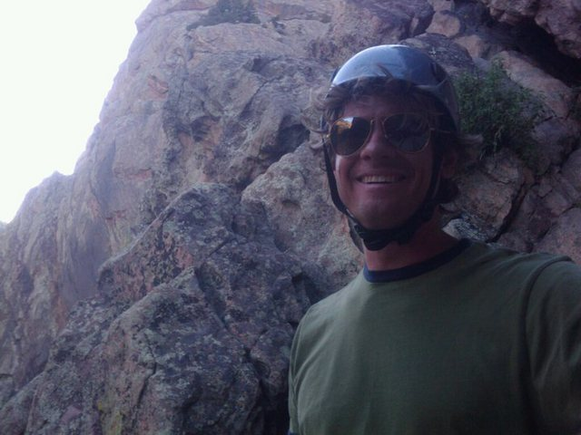 Rock Climbing Photo: Getting ready to rap off Recon